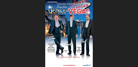 Tenors Un Limited - Venice to Vegas