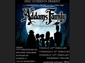 Addams Family Andover College