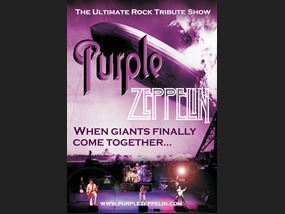 Purple Zeppelin poster 2020