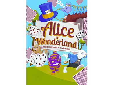 Alice in Wonderland reduced size