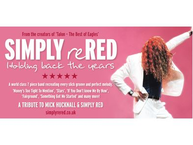 Simply Red Tour 2020 SIMPLY reRED | The Lights Andover